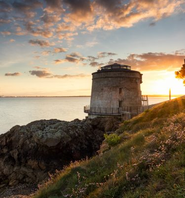 Michael Gissane Photography Irish Photographer Martello Tower Sutton [OL_002_MTS]