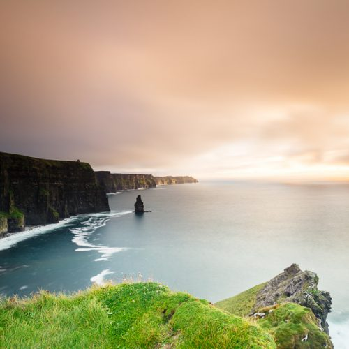 Michael Gissane Photography The Cliffs of Moher at Sunset