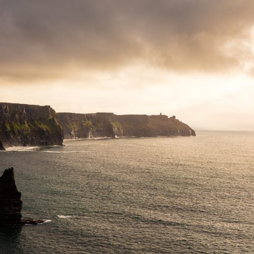 Michael Gissane Photography Cliffs of Moher evening sky