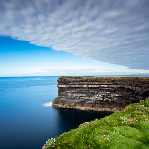 Michael Gissane Photography Downpatrick Head Dramatic Sky
