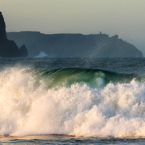 Michael Gissane Photography Ireland Emerald Wave, Doolin