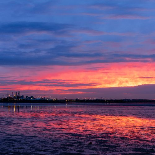 Michael-Gissane-Photography-Ireland-Landscape-clontarf-sunset-sky-colours-dublin-bay-seascapes-bullwall-dublin